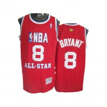 Kobe Bryant Los Angeles Lakers Authentic 2003 All Star Throwback Nba Mitchell And Ness Jersey Red
