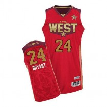 Kobe Bryant Los Angeles Lakers Authentic 2011 All Star Nba Adidas Jersey Red