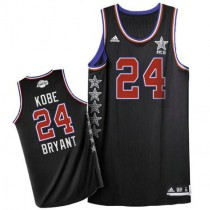 Kobe Bryant Los Angeles Lakers Authentic 2015 All Star Nba Adidas Jersey Black