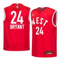Kobe Bryant Los Angeles Lakers Authentic 2016 All Star Nba Adidas Jersey Red