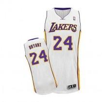 Kobe Bryant Los Angeles Lakers Authentic Alternate Nba Adidas Jersey White