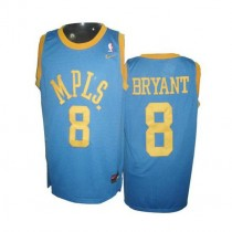 Kobe Bryant Los Angeles Lakers Authentic Baby Mpls Throwback Nba Nike Jersey Blue