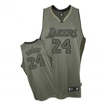Kobe Bryant Los Angeles Lakers Authentic Field Issue Nba Adidas Jersey Grey