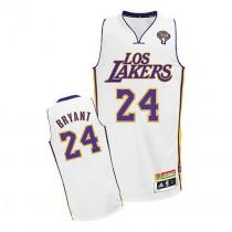 Kobe Bryant Los Angeles Lakers Authentic Latin Nights Nba Adidas Jersey White
