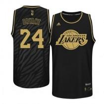 Kobe Bryant Los Angeles Lakers Authentic Precious Metals Fashion Nba Adidas Jersey Black