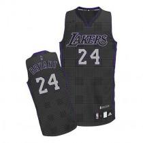 Kobe Bryant Los Angeles Lakers Authentic Rhythm Fashion Nba Adidas Jersey Black