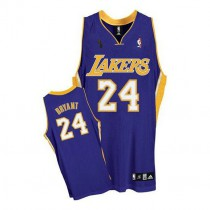 Kobe Bryant Los Angeles Lakers Authentic Road Champions Patch Nba Adidas Jersey Purple