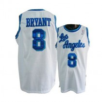 Kobe Bryant Los Angeles Lakers Authentic Throwback Nba Nike Jersey White