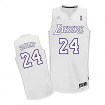 Kobe Bryant Los Angeles Lakers Swingman Big Color Fashion Nba Adidas Jersey White