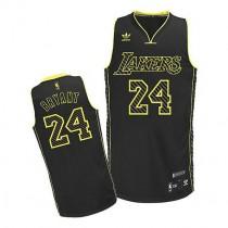 Kobe Bryant Los Angeles Lakers Swingman Electricity Fashion Nba Adidas Jersey Black