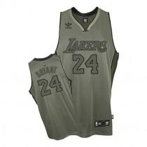 Kobe Bryant Los Angeles Lakers Swingman Field Issue Nba Adidas Jersey Grey