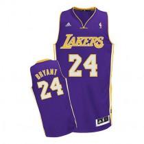 Kobe Bryant Los Angeles Lakers Swingman Road Nba Adidas Jersey Purple