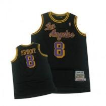 Kobe Bryant Los Angeles Lakers Swingman Throwback Nba Mitchell And Ness Jersey Black