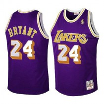 Kobe Bryant Los Angeles Lakers Swingman Throwback Nba Mitchell And Ness Jersey Purple
