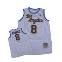 Kobe Bryant Los Angeles Lakers Swingman Throwback Nba Mitchell And Ness Jersey White