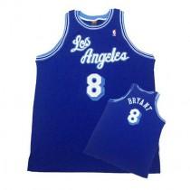 Kobe Bryant Los Angeles Lakers Swingman Throwback Nba Nike Jersey Blue