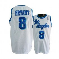 Kobe Bryant Los Angeles Lakers Swingman Throwback Nba Nike Jersey White