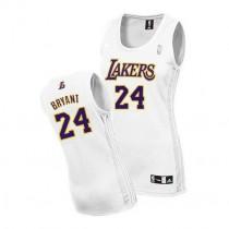 Kobe Bryant Los Angeles Lakers Women S Authentic Alternate Nba Adidas Jersey White