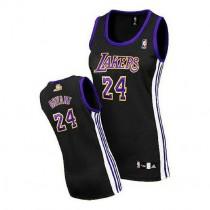 Kobe Bryant Los Angeles Lakers Women S Authentic Black No Nba Adidas Jersey Purple