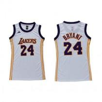 Kobe Bryant Los Angeles Lakers Women S Authentic Dress Nba Adidas Jersey White