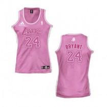 Kobe Bryant Los Angeles Lakers Women S Authentic Fashion Nba Adidas Jersey Pink