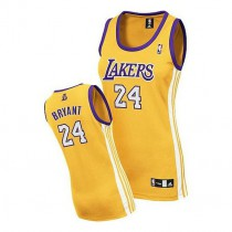 Kobe Bryant Los Angeles Lakers Women S Authentic Home Nba Adidas Jersey Gold