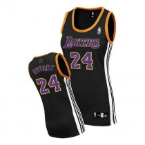 Kobe Bryant Los Angeles Lakers Women S Authentic Nba Adidas Jersey Black