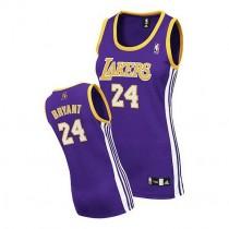 Kobe Bryant Los Angeles Lakers Women S Authentic Road Nba Adidas Jersey Purple