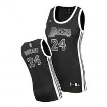 Kobe Bryant Los Angeles Lakers Women S Swingman Black Nba Adidas Jersey White