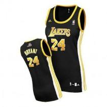 Kobe Bryant Los Angeles Lakers Women S Swingman Black No Nba Adidas Jersey Gold