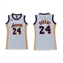 Kobe Bryant Los Angeles Lakers Women S Swingman Dress Nba Adidas Jersey White