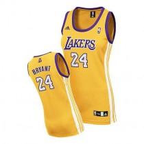 Kobe Bryant Los Angeles Lakers Women S Swingman Home Nba Adidas Jersey Gold