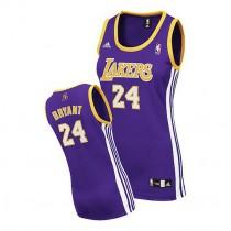 Kobe Bryant Los Angeles Lakers Women S Swingman Road Nba Adidas Jersey Purple