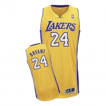 Kobe Bryant Los Angeles Lakers Youth Authentic Home Nba Adidas Jersey Gold