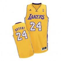 Kobe Bryant Los Angeles Lakers Youth Swingman Home Nba Adidas Jersey Gold